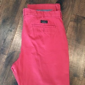 Banana Republic Men's Chino Pants - Red - 38x32